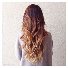 Mechas californianas e Ombré hair Muitas fotos para inspirar! ❤ liked on Polyvore featuring accessories, hair accessories and hair