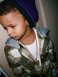 I love this boii, he has the best swag to me for a lil boii....