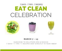 This 7 Day Eat Clean Celebration is all about celebrating healthy, life-giving foods in exchange for processed foods, that are filled with ingredients we can't even pronounce! #cleaneating, #eatclean, #detox, #cleanse, #healthmatters, #recipes, #smoothies, #juice, #greenstar, #blentec