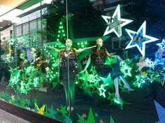 """DEBENHAMS,London,UK, """"Come with us and catch some stars"""", pinned by Ton van der Veer"""