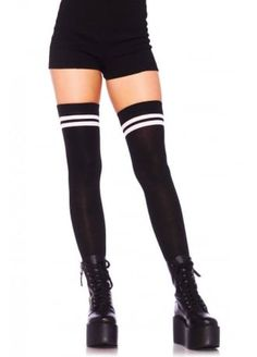 Athletic Thigh Highs | Attitude Clothing