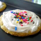 This frosting turns our great, the consistency is good and it sets well too.