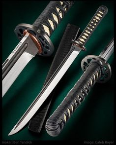 Ben Tendick knives