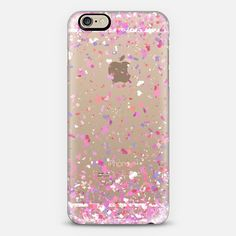 Love Confetti Explosion Transparent iPhone 6 Case by Organic Saturation   Casetify. Get $10 off using code: 53ZPEA