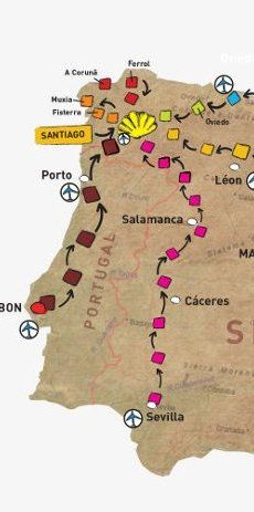 Follow the Camino Pilgrimage, Walking and Cycling Holidays along the Camino de Santiago