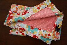 Minky Baby Blanket  Just Wing It  Butterflies by modernmadebaby, $36.00