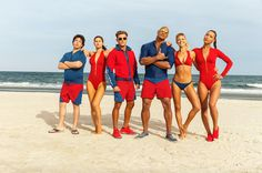 """Baywatch(Photo: Paramount)    Get ready for swimsuit season — Baywatch is back.  The reboot featuresDwayne """"The Rock"""" Johnson as devoted lifeguard Mitch Buchannon whose love for hisjob is just as big as his muscles. Along with a new recruit (played by Zac Efron), the head-butting... http://usa.swengen.com/watch-zac-efron-the-rock-escape-explosions-in-official-baywatch-trailer/"""