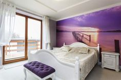 Fototapeta 3d w sypialni #fototapeta #fototapety
