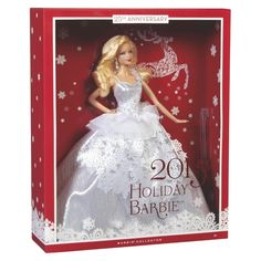 Holiday Barbie 2013...This will be happening for the nugget...just like her mama!