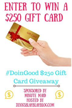 $250 Gift Card #Giveaway - ends 1/23! http://monicasrrr.blogspot.com/2015/12/250-gift-card-giveaway-ends-123.html