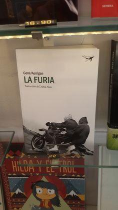 """La furia"" de Gene Kerrigan. Sajalín Editores."