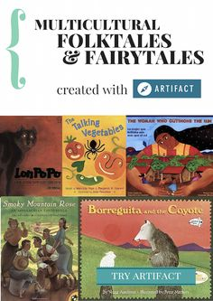 10 picture books based on folktales from around the world.