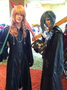 Marluxia and Zexion