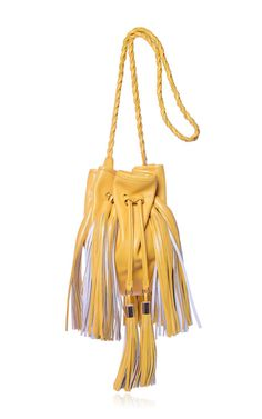Sunflower Small Jasmine Bag by Sara Battaglia for Preorder on Moda Operandi