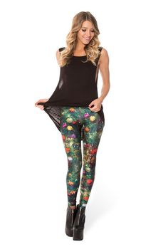 Can't wait to rock these Christmas Tree 2.0 Leggings - LIMITED › Black Milk Clothing