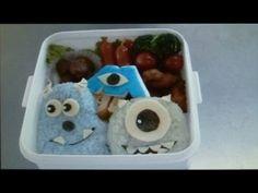 HOw to make Monsters Inc bento