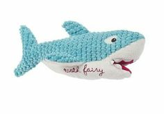 MAISON CHIC Gill the Blue Shark Tooth Fairy Pillow   | valuevalet.ca
