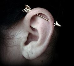 industrial piercing....   i still kind of wish i had gotten one of these...