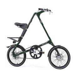 "STRIDA EVO 18″ BELT DRIVEN BICYCLE ""ENGLISH GREEN"" #Strida #Bicycle #Bike"