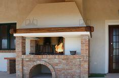 caminetti barbecue muratura a legna da interno ed esterno progettati e costruiti da Onor e Borin. Guarda tutte le foto.