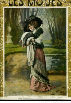 Les modes (Paris)Mlle Arlette Dorgere