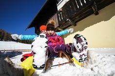 Winterspaß im Dorf Kleinwild - Feriendorf Kirchleitn - www.kirchleitn.com