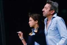 Serge And Charlotte Gainsbourg