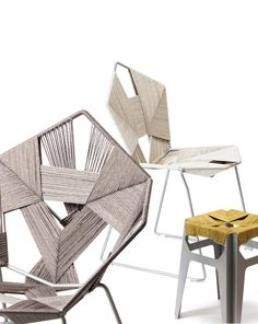 (via COD Collection - Woven Seating by Rami Tareef for Gaga & Design » Yanko Design)