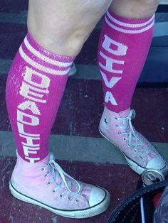 Deadlift Diva Socks for Comp! Diva, Socks, Shopping, Fashion, Moda, La Mode, Fasion, Fashion Models, Ankle Socks