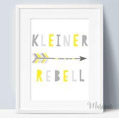 chevron affe gelb grau kinderzimmer dekor kunst - baby ... - Kinderzimmer Gelb Pink