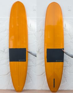 9'1 Quickstep Polished tangerine orange with matt finish charcoal detail