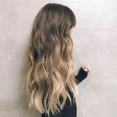 Hair this thick, soft, and perfectly ombréd should be a crime. #GOALS via…