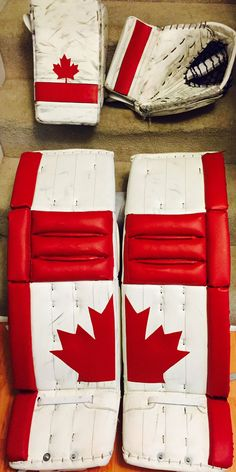 Welcome to the Chameleon Sports store! You'll find lots of info, news, pics and more about our PadSkinz, PalmSkinz, GripSkinz and PantSkinz products. Hockey Goalie Pads, Goalie Gear, Hockey Gear, Goalie Mask, Native American Humor, Meanwhile In Canada, Canada Hockey, Summit Series, Canada Eh