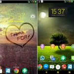 Install Xperia Colorful, Nature, MaxRed Theme