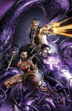 Justice League Dark Cover B Variant Clayton Crain Cover Dc Comics Superheroes, Dc Comics Art, Marvel Dc Comics, Batman Comic Art, Batman Robin, Gotham Batman, Superman, Justice League Unlimited, Justice League Funny