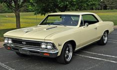 1966-Chevelle-SS-Lemonwood-Yellow