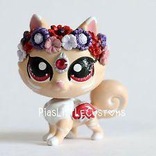 """Passion"" Flower Pomeranian (Piaslittlecustoms OC) Littlest Pet Shop LPS custom"