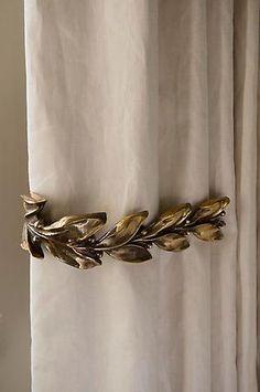 Rose Uniacke - Shop - Leaf & Berry Curtain Ties