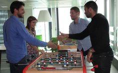 Le Parisien - Le quartier d'affaires séduit les jeunes entreprises