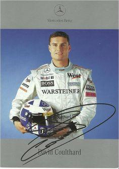 Autograph:David Coulthard,Formula One World Champion.
