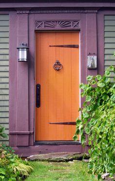 Provincetown, Cape Cod, Massachusetts     ohhhh look at that pretty door!  love a good door