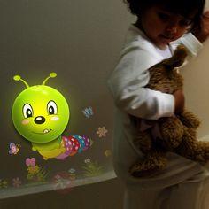 Caterpillars – urocza lampka nocna LED dla dzieci 5251006