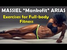 "MASSIEL ""MANKOFIT"" ARIAS - Fitness Model: Exercises for Full-body Fitness @ Dominican Republic"