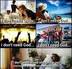 I Don't Need God