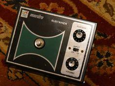 Maestro Sustainer SS-3 guitar pedal (vintage) 1972 #Maestro