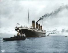 Retronaut - Titanic in colour