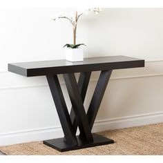 Add this table to the hallway - under the painting