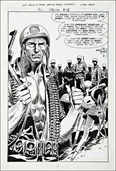 "JOE KUBERT  ""Sgt. Rock,"" DC Comics, 1981"