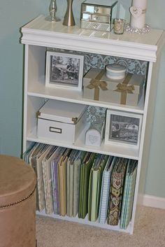 Bookcase Redo On Pinterest No Closet Bookcases And Closet Space