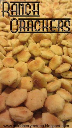 The Mandatory Mooch: Ranch Oyster Crackers